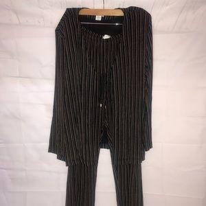 Draper's & Damon's 2pc Pant Suit XL